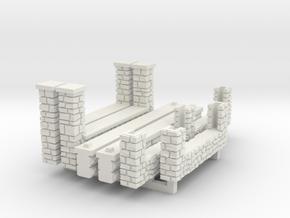 NVPP91 - Suburban house in White Natural Versatile Plastic