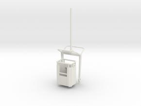 P 100-9 Arbeitskorb 1:50 in White Natural Versatile Plastic