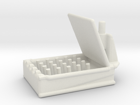 HedgeHog MK 10 Mod 1 1/144 Scale in White Strong & Flexible