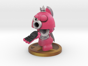 Axe Robot Pink in Full Color Sandstone