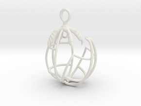 EggClaw Cage 4 in White Strong & Flexible