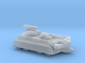 Random Sci-Fi Tank in Smooth Fine Detail Plastic