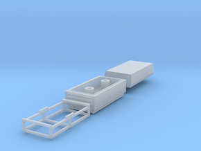 H0 1:87 Kompressor ohne Fahrwerk in Smooth Fine Detail Plastic