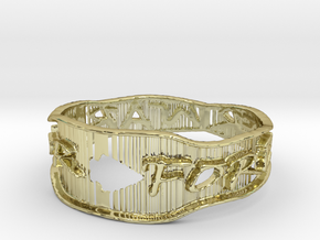 Warrior Forever Ring (Size 4.25) in 18k Gold
