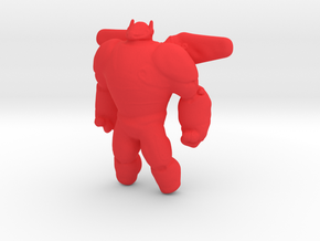 Baymax - Big Hero 6 in Red Strong & Flexible Polished