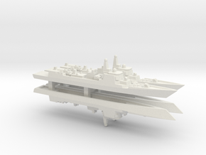 Type 052C Destroyer x 4, 1/2400 in White Natural Versatile Plastic