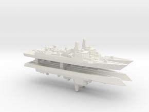 Type 052D Destroyer x 4, 1/2400 in White Natural Versatile Plastic