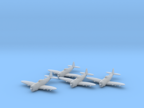 Republic P-47 'Thunderbolt' Bubbletop x4 FUD in Smooth Fine Detail Plastic