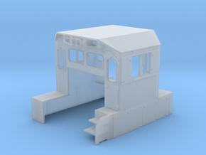 NRE 3GS21B Genset Cab (Cab Headlight) (N - 1:160) in Smoothest Fine Detail Plastic