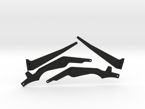 DL-18 Fins in Black Strong & Flexible