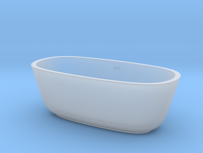 1:48 Bath Tub in Smooth Fine Detail Plastic