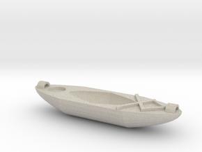 Kayak Ornament in Natural Sandstone