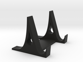 Phone Stand in Black Natural Versatile Plastic