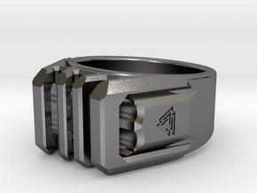 Asguard 13 70mm in Polished Nickel Steel