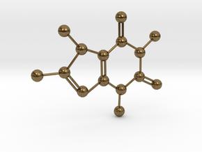 Caffeine in Natural Bronze