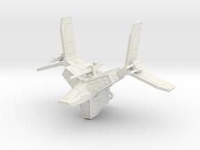 Mangler Imperial Gunship BLC SR BR (1/270) in White Natural Versatile Plastic