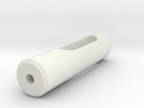 Rod in White Natural Versatile Plastic