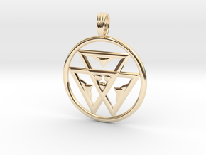 TRINITY LIFE-FORCE in 14K Yellow Gold