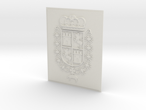 Spain COA 8x10_Castillo de San Marcos_St. Aug. FL. in White Natural Versatile Plastic