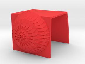 iMacCam Cover in Red Processed Versatile Plastic
