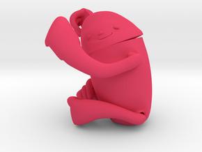 Lila . Bicho Preguissa . Aimbé. Sloth . ナマケモノ in Pink Processed Versatile Plastic