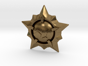 World Exploration Star in Natural Bronze