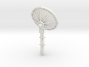 MOF Satellite Dish [72-1] in White Strong & Flexible