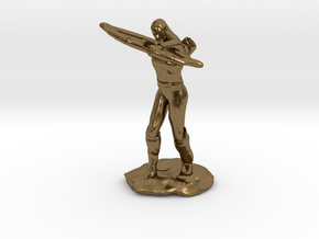 Elf Ranger with Longbow in Natural Bronze
