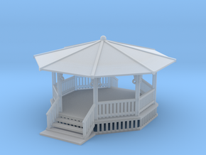 22 Ft Gazebo Z Scale in Frosted Ultra Detail