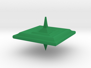 Square Top in Green Processed Versatile Plastic