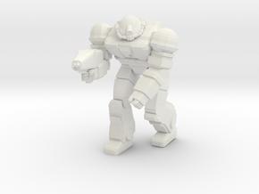 Viking Pose 2 in White Natural Versatile Plastic