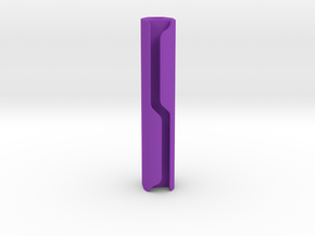 Pinball Spotlight Concealed Wire Post - 2 Inch in Purple Processed Versatile Plastic
