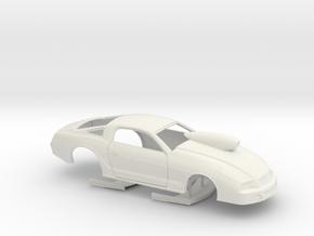 1/16 2013 Pro Stock Mustang in White Natural Versatile Plastic