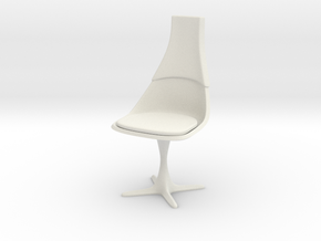 TOS Chair 115 1:9 Scale 8-Inch in White Strong & Flexible