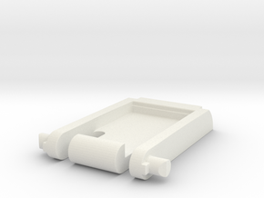 Keyboard Kickstand in White Natural Versatile Plastic