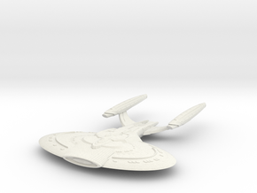 New Orleans Class Battleship in White Natural Versatile Plastic