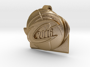 Cavs 2016 30mm in Polished Gold Steel