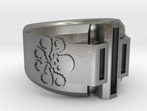 Hydra 5 - 15.7mm in Raw Silver