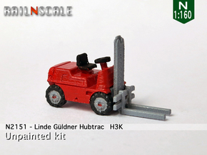 Linde Güldner Hubtrac H3K (N 1:160) in Frosted Ultra Detail