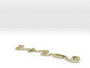Model-43221976af186d20fad4c92bb1134e5c in 18k Gold Plated Brass