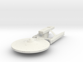 Pratchett Class REFIT HvyDestroyer in White Strong & Flexible