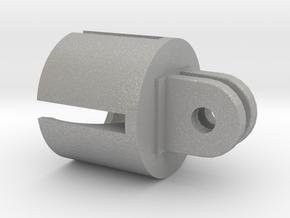 Action camera Socket Mount 2 Prong in Aluminum