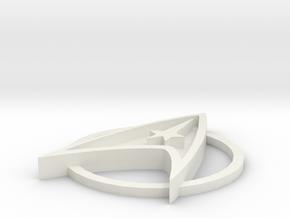 Star Trek Base Stand  III in White Natural Versatile Plastic