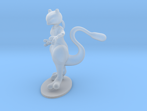 Mewtwo in Smooth Fine Detail Plastic