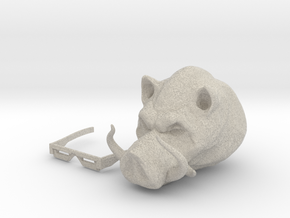 Punk Pig in Natural Sandstone