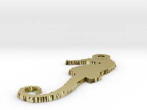 Model-3a897cad9050893be8a97d1be6b7575a in 18k Gold Plated Brass