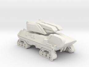 Crawler Particle Cannon in White Strong & Flexible