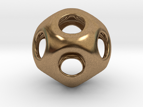 Conway Polyhedron {lseehD} in Natural Brass