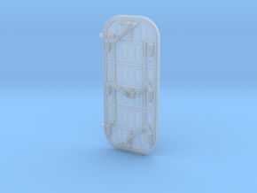 1/45 Scale ship door in Frosted Ultra Detail
