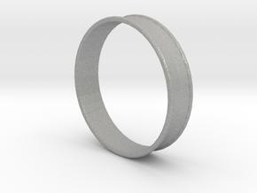 2 Inch (51mm) Double Flare Ear Tunnel (single) in Aluminum